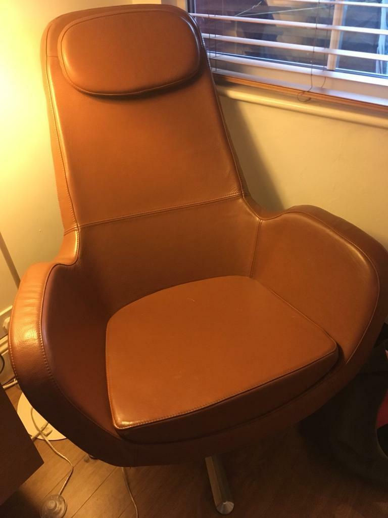 Brown Leather Easy Chair 50 In Coventry West Midlands Gumtree