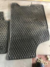 Vw lupo rubber floor mats