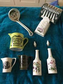 Selection of Portmeirion Pottery