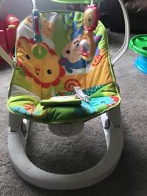 Fisherprice rainfrost vibrating chair