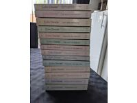 Complete set of Inspector Morse Books by Colin Dexter