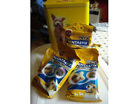 FOR SALE - 8 PACKETS OF DENTASTIX (SMALL DOG) UNOPENED