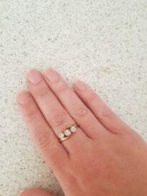 9ct K/L ring