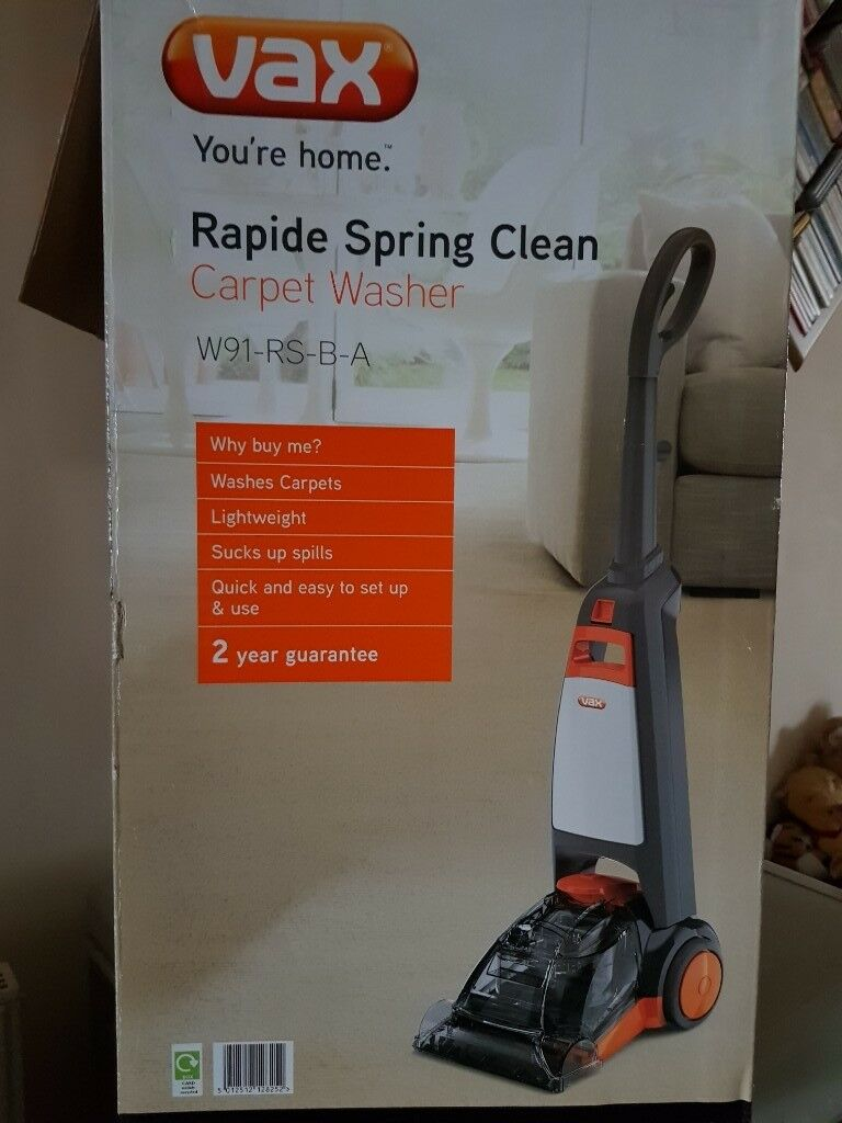 Vax Rapide Spring Carpet Cleaner W91 Rs B A Carpet