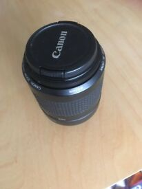 A Canon Zoom Lens and a Standard canon lens