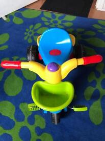 Tricycle with horn