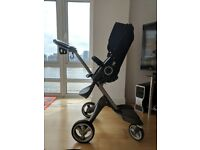 Stokke Xplory v4 - Deep Blue - Used in Great Condition - Reduced Price