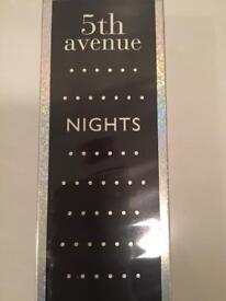 Perfume ladies new unopened Elizabeth Arden 5th Avenue nights .125ml