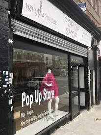 Shop share for rent on Holloway Road N19.