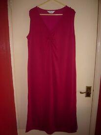 Pink Elvi Dress Size 18