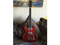 Gibson USA midtown with bigsby mint and rare