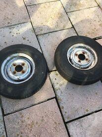 Steel mini wheels