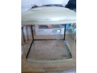 Interpet Aq3 fish tank / aquarium approx 54 litres