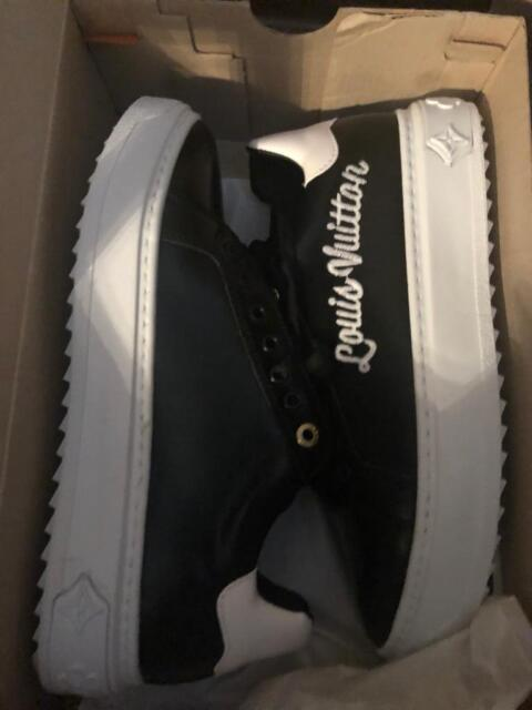 68271cbe7c Louis Vuitton Trainers Time Out Sneakers Black | in West End, Glasgow |  Gumtree