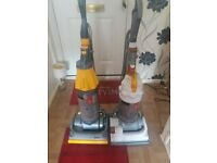 2 Dyson Hoovers (dc07 dc14)