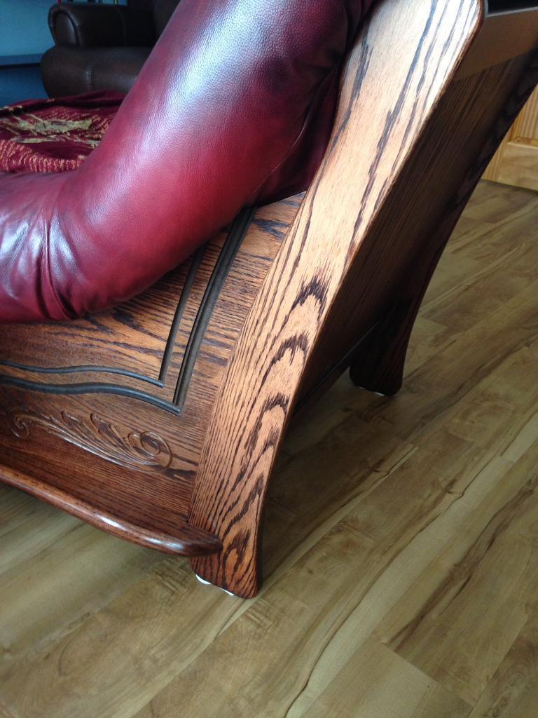Sofa- Italian leather . 3 +1+1