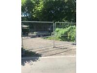 4m site gates, heras fencing palisade gates driveway vehicle