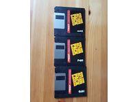 Retro vintage video games Lemmings Flight Simulator Atari 2600 Arcade Lotus MS DOS floppy disk