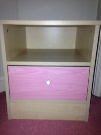 Bed side cupboard