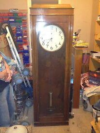 Tall casement clock