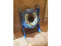 Potty seat with steps, ideal for potty training