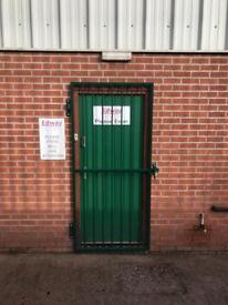Steel security gate/door/window/made to measure