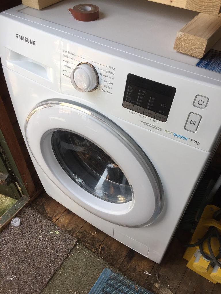 Immaculate Samsung Eco Bubble Washing Machine