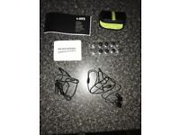 S-Jays Headphones, Excellent Condition, Complete with Case and Accessories, £12