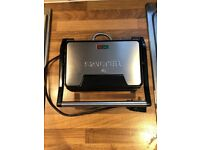 Salter's health grill and panini maker. Very good condition!