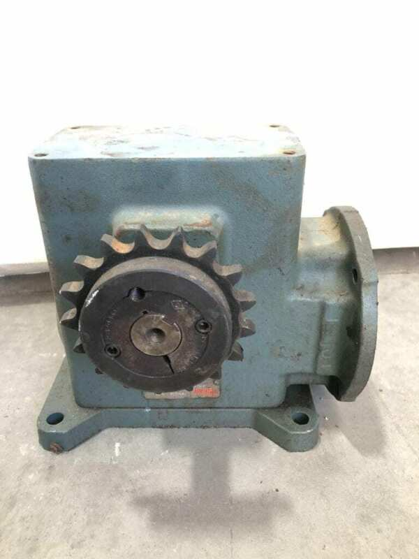 Dodge Tigear MR94668L1-B-DB 15:1 Gear Drive/Speed Reducer 2.24HP 1030in-lb