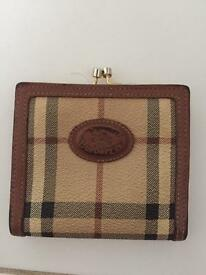 Absolutely Gorgeous Vintage Burberry Purse, 100% Authentic