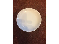 Large Lot of White Side Plates Brand New