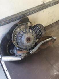 Genuine Vespa t5 classic complete engine!