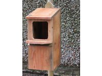 HAND MADE NESTING BOXES, VARIOUS TYPES AVAILABLE