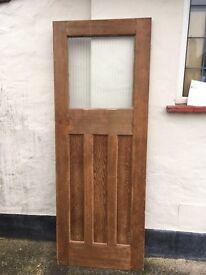 4 Reclaimed Pine 1920s Internal Doors