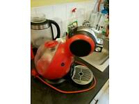Dolce Gusto Nescafe coffee machine fully working with many pods