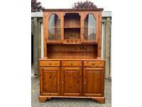 Solid Pine Welsh Dresser - Can Deliver