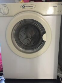 White Knight 3kg tumble dryer - intermittently working