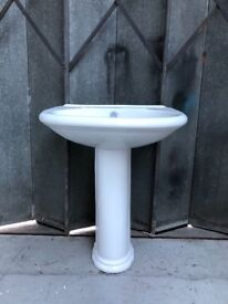 Edwardian sink basin and Pedestal