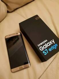 Samsung S7 Edge 32GB Gold Platinum