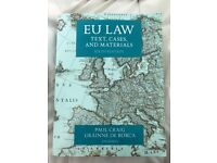 Selling EU LAW book: Text cases and materials 6th edn