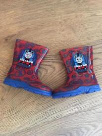 Thomas the Tank Engine wellies for toddler boy size 4