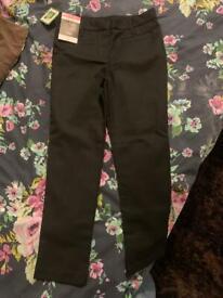 Girls black trousers
