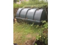 Compact PVC Oil tank- used but in very good condition. Free.
