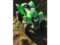 Battery powered quad bike great condition