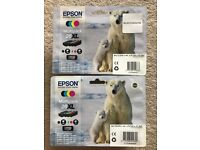 Genuine Epson Printer Ink Polar Bear XL Multipack