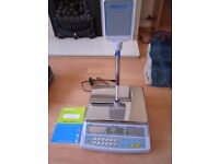 Electronic Confectionery Shop / Retail Scales - mint condition - £90 - Adam AZextra