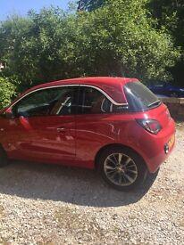 Vauxhall Adam '14 low mileage, red