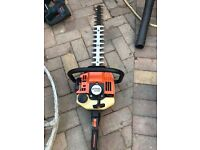STIHL HS 80 PETROL HEDGE TRIMMER - JUST SERVICED IN GOOD WORKING ORDER