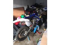 Yz250f swap for road legal 125